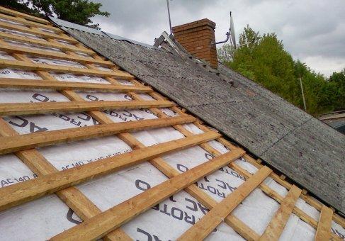 Схема устройства обрешетки крыши