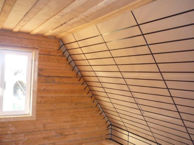 Устройство утепления пеноплексом на крыше
