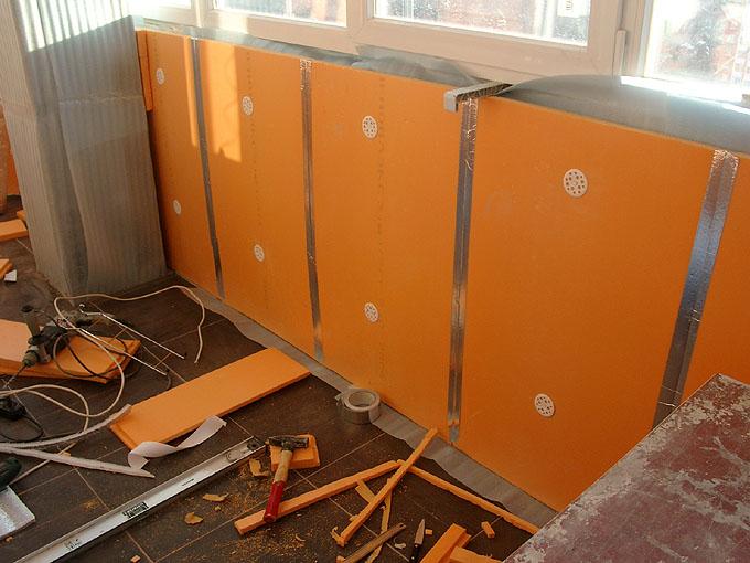 Пеноплекс для отделки балкона