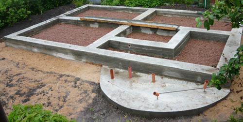 Монолитный фундамент для загородного дома
