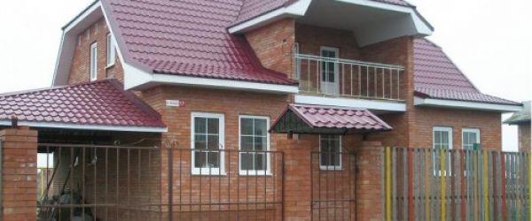 Мансардная крыша покрытая черепицей