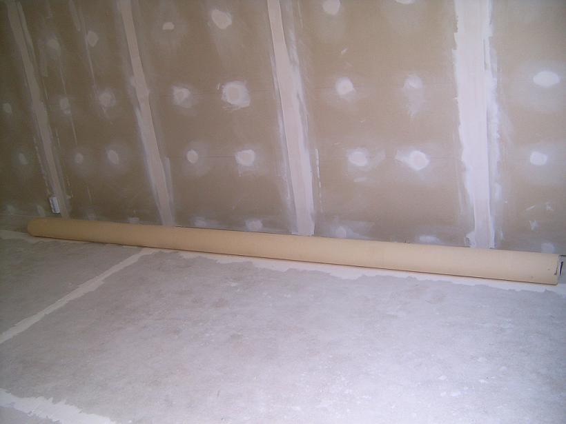 Стены готовые к шпатлевке