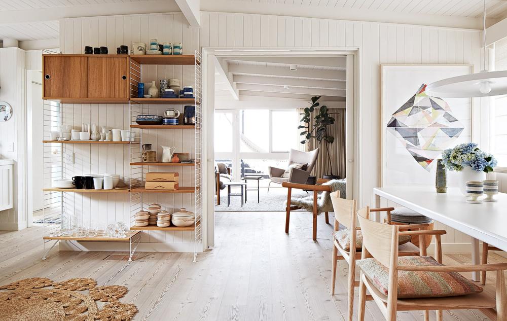 Дизайн внутреннего наполнения дома из бруса