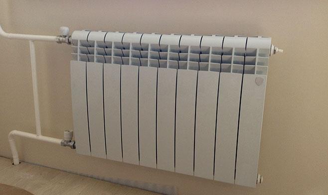Отопление квартиры при помощи радиатора