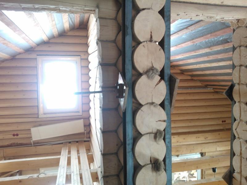 Обшивка деревянных стен из бруса