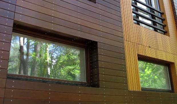 Отделка дома из бруса деревянными панелями
