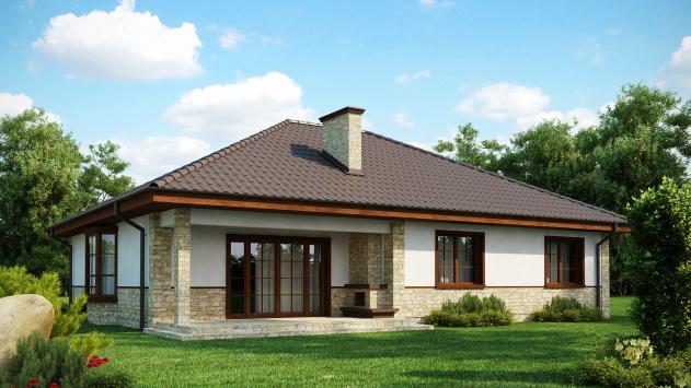 Проекты домов одноэтажных