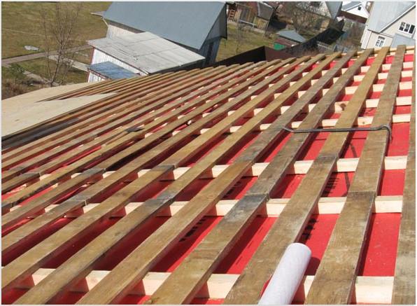 Устройство обрешетки для монтажа деревянных панелей