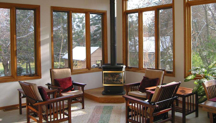 Традиционные деревянные окна
