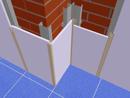Крепление пластиковых панелей на кирпичную стену