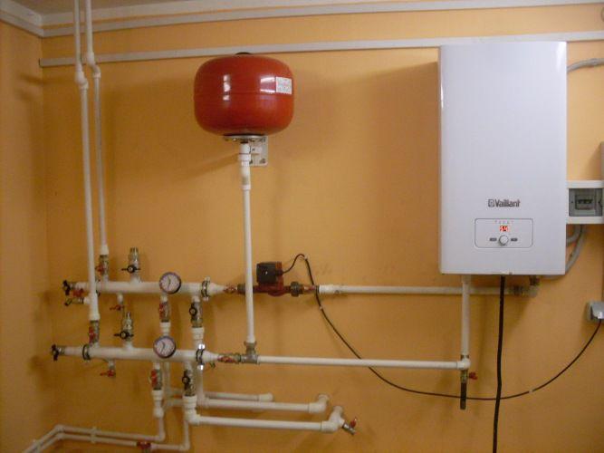 Устройство отопления электрокотлом