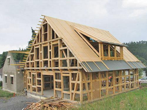 Изготовление каркасных домов