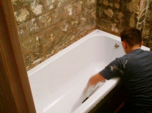 Покрытие ванн