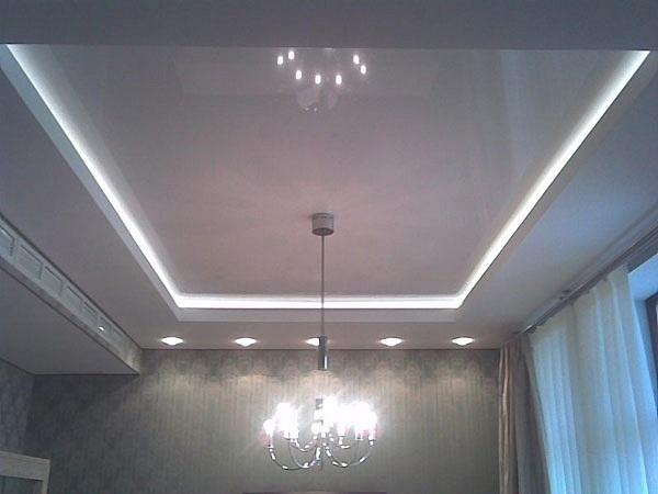 Светодиодные ленты для отделки потолка