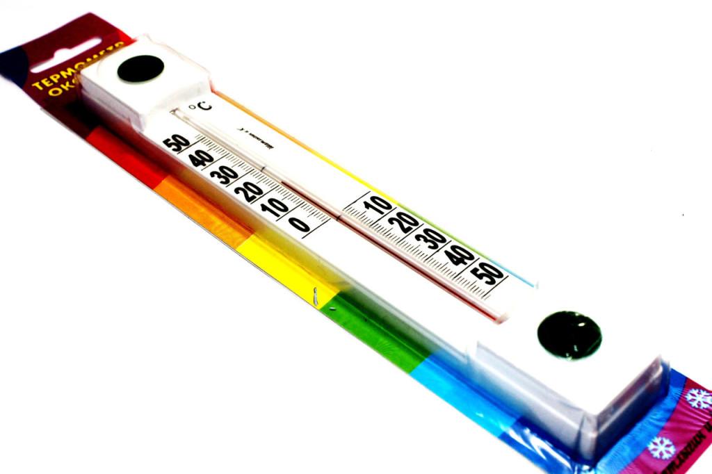Уличный термометр на пластиковое окно
