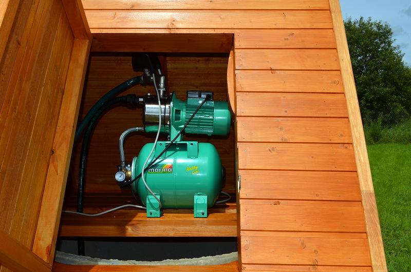 Ящик для насосной станции на даче своими руками