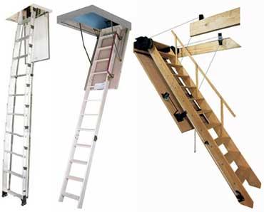 виды лестниц