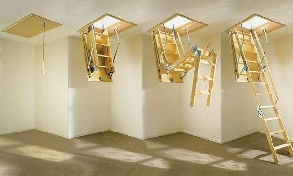 этапы раскладки лестницы