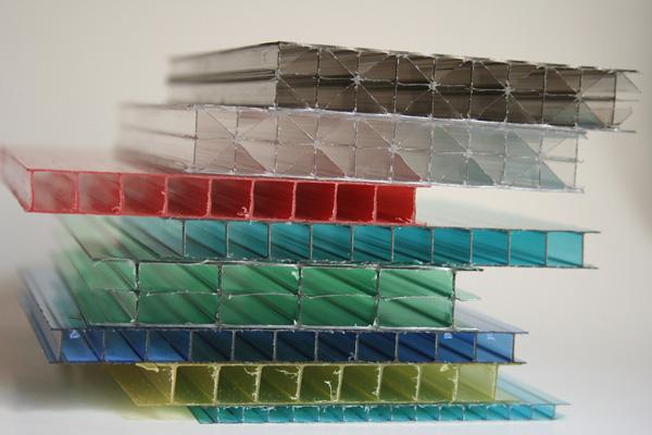 поликарбонат разных цветов