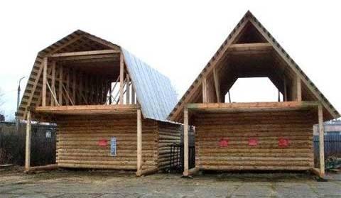 виды мансардной крыши