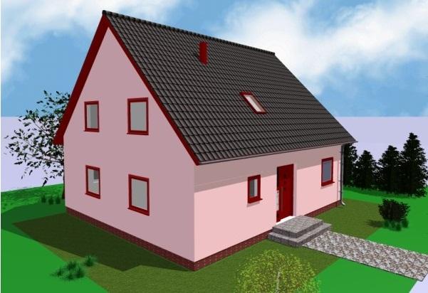 проект двускатной крыши