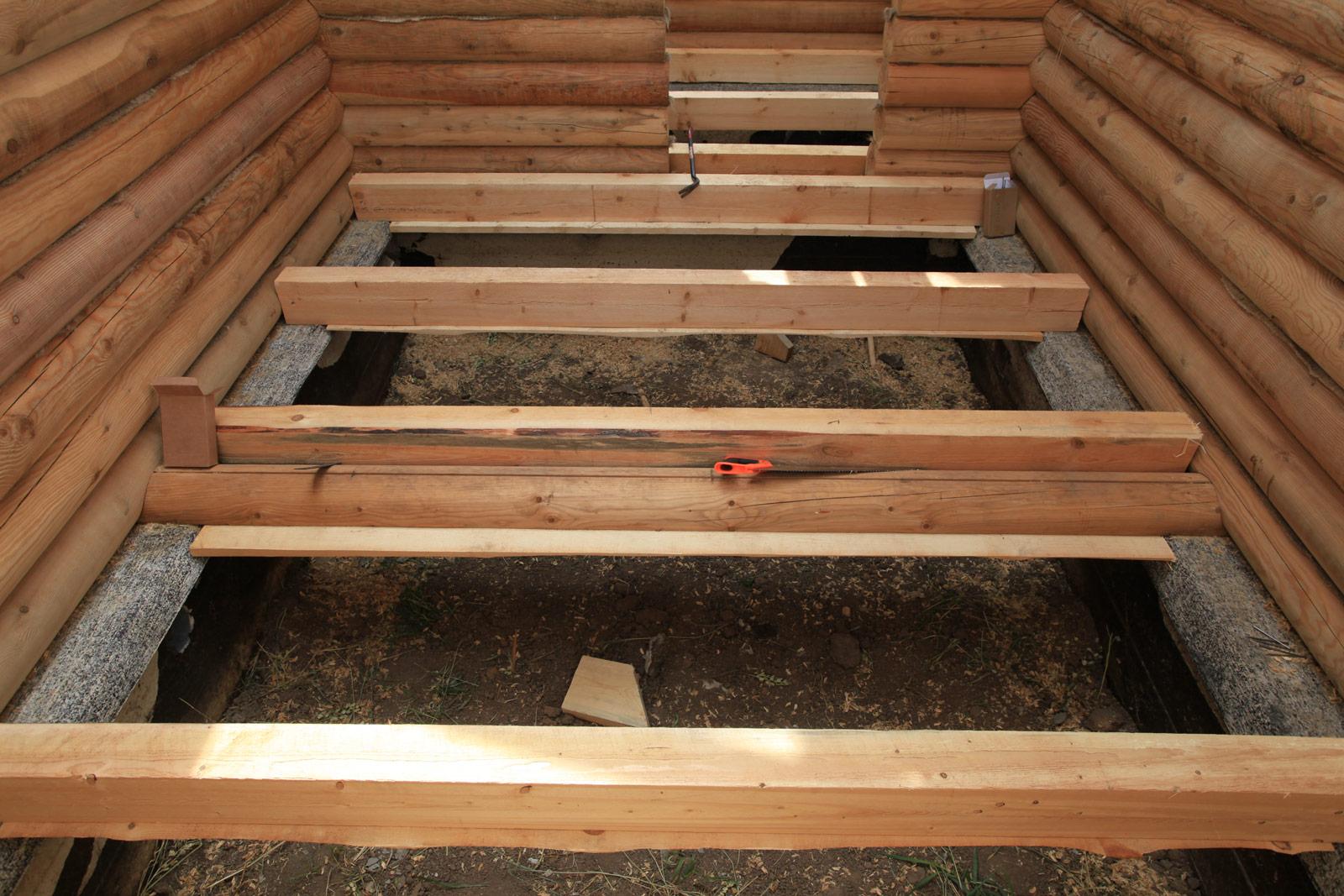 черновой пол в деревянном доме своими руками